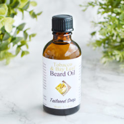 Tobacco & Bay Leaf Beard Oil by Tailored Soap