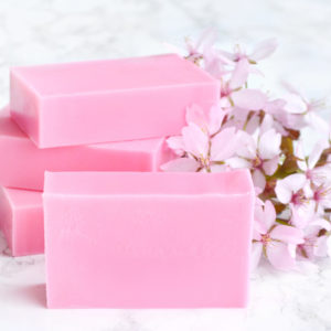 Cherry Blossom Soap from the Tailored Soap Everyday Luxury Collection