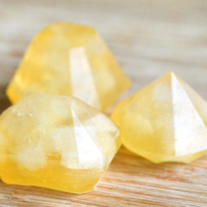 Citrine Gem Soap Set by Tailored Soap