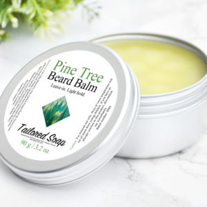 Pine Tree Beard Balm by Tailored Soap