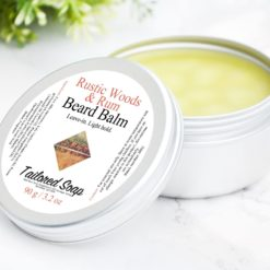 Rustic Woods & Rum Balm by Tailored Soap