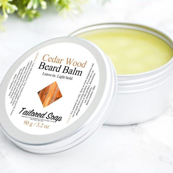 Cedar Wood Beard Balm by Tailored Soap