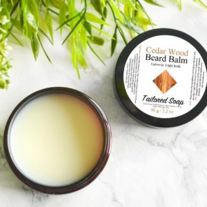 Cedar Wood Beard Balm by Tailored Soap