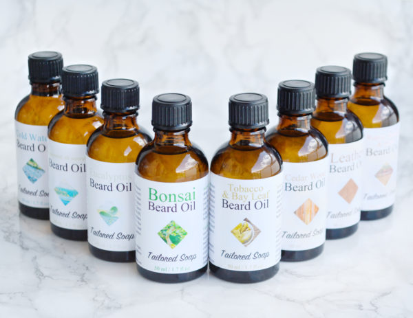 Beard Oils by Tailored Soap