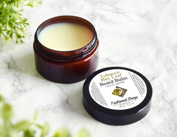 Tobacco Bay Leaf Beard Balm by Tailored Soap
