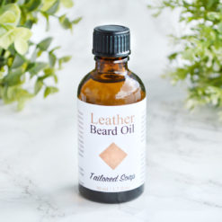 Leather Beard Oil by Tailored Soap