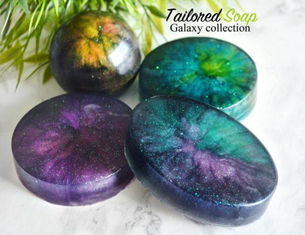 Galaxy Soap Collection by Tailored Soap