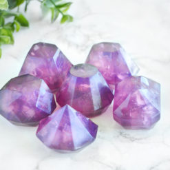 Amethyst Gem Soap Set by Tailored Soap