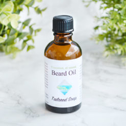 Unscented, All Natural Beard Oil by Tailored Soap