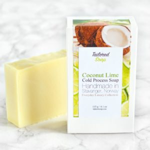 Coconut & Lime Soap from the Tailored Soap Everyday Luxury Collection