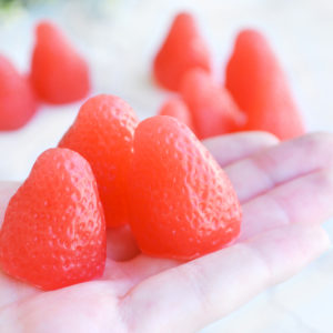 Strawberry Soap Set by Tailored Soap