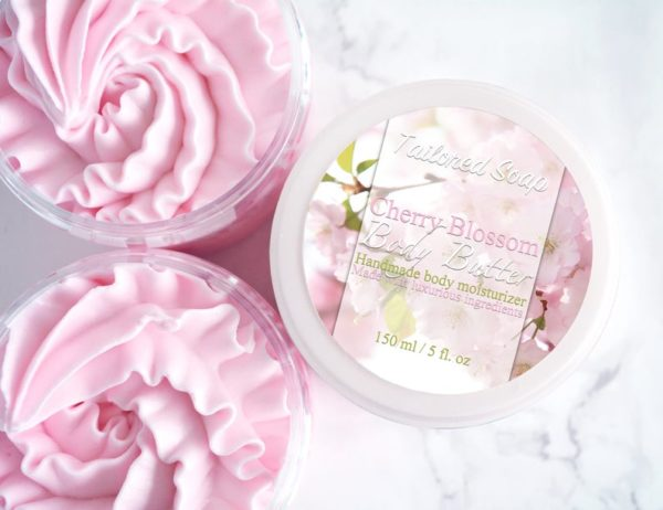 Cherry Blossom Body Butter by Tailored Soap