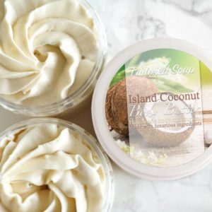 Island Coconut Body Butter by Tailored Soap