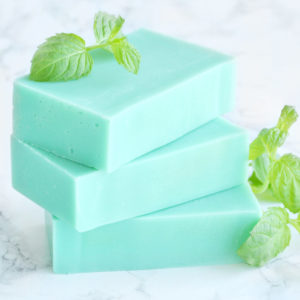 Moroccan Mint Soap from the Tailored Soap Everyday Luxury Collection