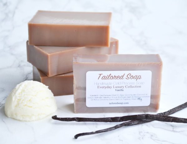 Vanilla Soap from the Tailored Soap Everyday Luxury Collection