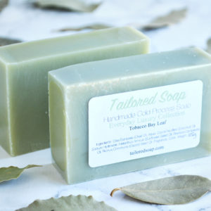 Tobacco & Bay Leaf Soap from the Tailored Soap Everyday Luxury Collection