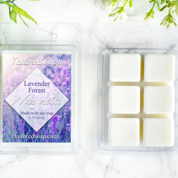 Lavender Forest Scented Wax Melts by Tailored Soap