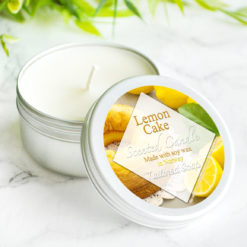 Lemon Cake Scented Candle by Tailored Soap