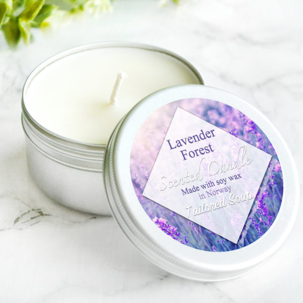 Lavender Scented Candle by Tailored Soap