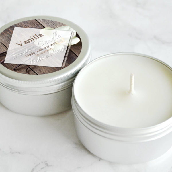 Vanilla Scented Candle by Tailored Soap