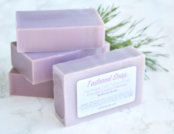 Vanilla Wood Soap from the Tailored Soap Everyday Luxury Collection