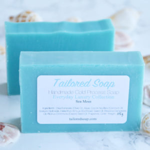 Sea Moss Soap from the Tailored Soap Everyday Luxury Collection