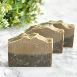 Natural Coffee Soap by Tailored Soap