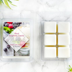 Black Raspberry Vanilla Scented Wax Melts by Tailored Soap