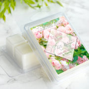 English Rose Scented Wax Melts by Tailored Soap