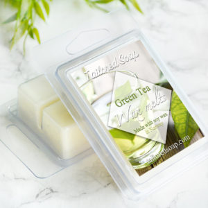 Green Tea Scented Wax Melts by Tailored Soap