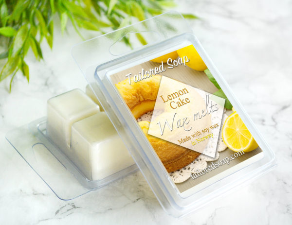 Lemon Cake Scented Wax Melts by Tailored Soap