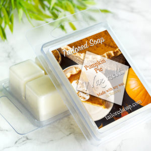 Pumpkin Pie Scented Wax Melts by Tailored Soap