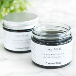 Activated Charcoal Face Mask by Tailored Soap