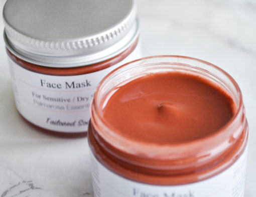 Rose Clay Face Mask by Tailored Soap