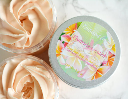 Plumeria Body Butter by Tailored Soap