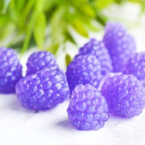 Purple Raspberry Soap Set by Tailored Soap