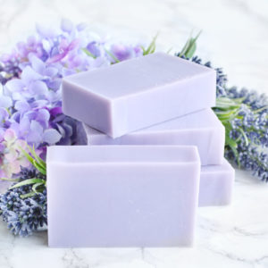 Lilac & Lavender Soap from the Tailored Soap Everyday Luxury Collection