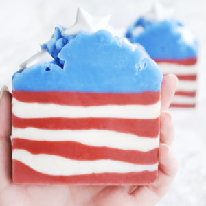 4th of July Soap by Tailored Soap