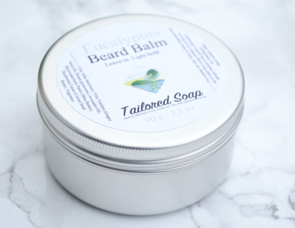 Eucalyptus Essential Oil Beard Balm by Tailored Soap