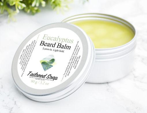 Eucalyptus Essential Oil Beard Balm by Tailored Soap
