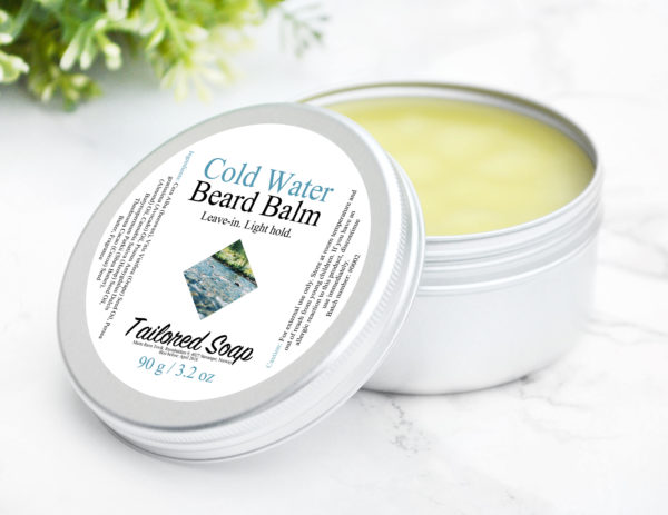 Cold Water Beard Balm by Tailored Soap