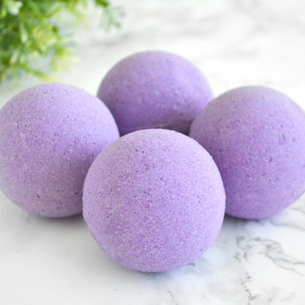 Lavender Field Bath Bomb by Tailored Soap