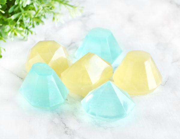 Diamond Gem Soap Set by Tailored Soap
