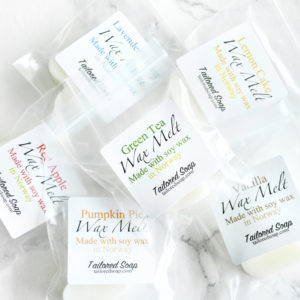 Tailored Soap Wax Melt Samples