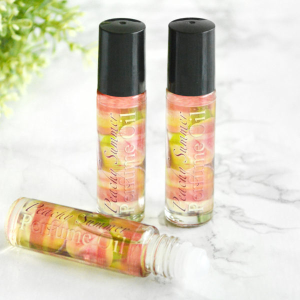 Peachy Summer Perfume Oil by Tailored Soap