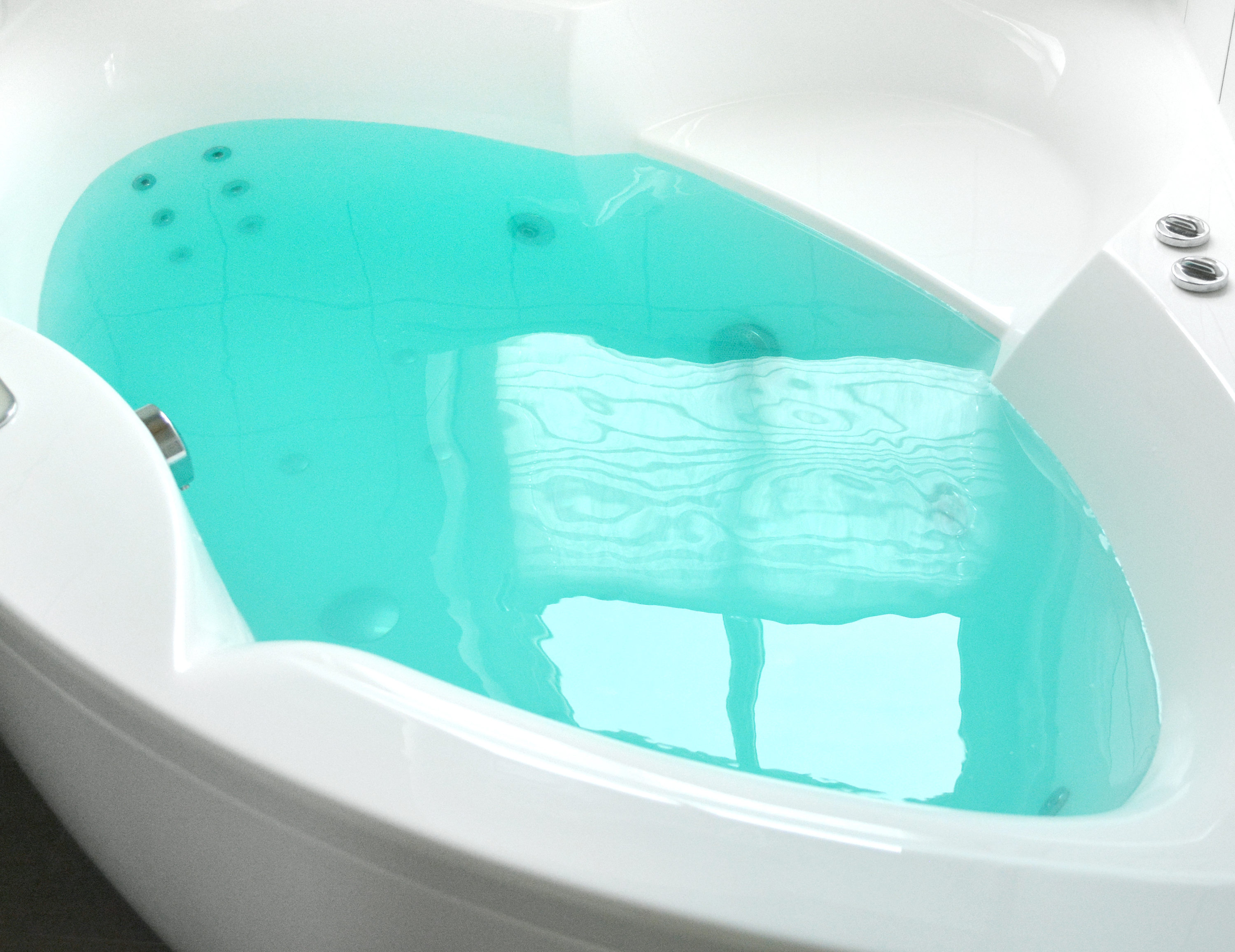 Teal Bath Bomb by Tailored Soap