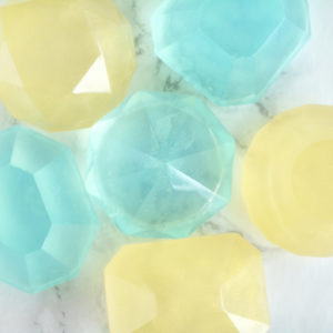 Diamond Gem Soap Set by Tailored Soap