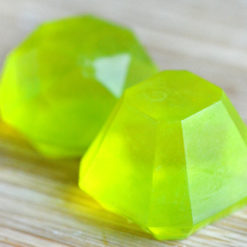 Peridot Gem Soap Set by Tailored Soap