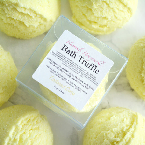 Heavenly Honeysuckle Bath Truffles by Tailored Soap