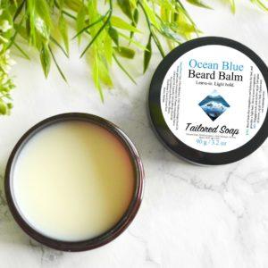Ocean Blue Beard Balm by Tailored Soap